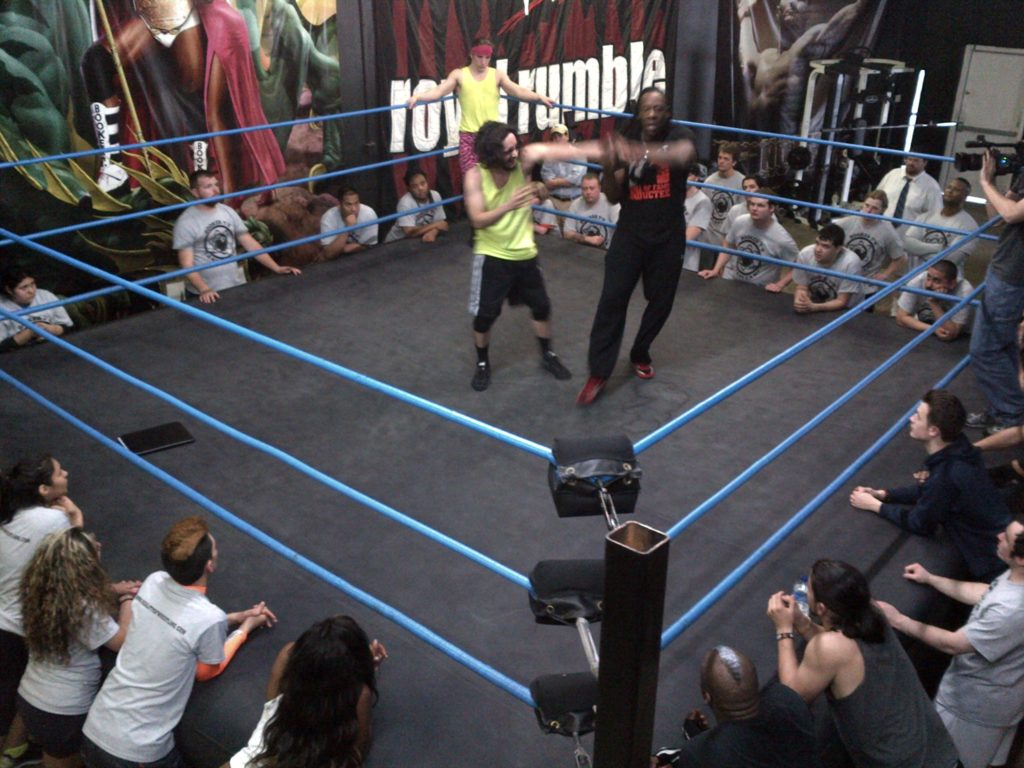 fantasy camp reality of wrestling the flagship of